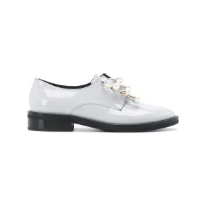 Coliac Anello embellished derby shoes - グレー