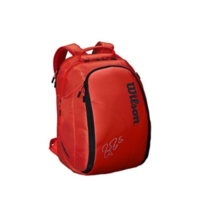 Wilson(ウイルソン) テニス ラケットバッグ FEDERER DNA BACKPACK (フェデラーDNA バックパック) 2本収納可能 WRZ830896 WRZ830896