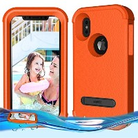 temdan Iphone Xフローティングケース耐衝撃LifejacketケースDesigned Flaoting on water KidsproofケースiPhone X 2017 (5...