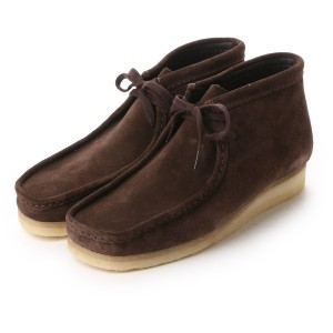 【SALE 10%OFF】クラークス Clarks CLARKS WALLABEE BOOT (DARKBROWN) メンズ