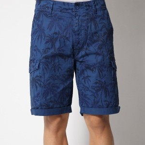 【SALE 50%OFF】ゲス GUESS PALM PATTERN SHORT (RGTB MAXI PALM PRINT)
