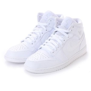 ナイキ NIKE kinetics AIR JORDAN 1 MID (WHITE) メンズ