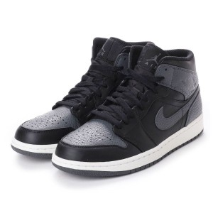 【SALE 10%OFF】ナイキ NIKE kinetics AIR JORDAN 1 MID (BLACK) メンズ