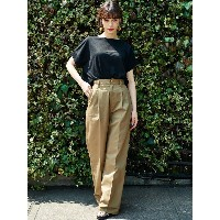 【SALE 25%OFF】イーハイフンワールドギャラリー E hyphen world gallery UNIVERSAL OVERALL WIDE PANTS (Beige)