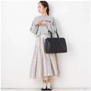 【SALE 10%OFF】ヒッチハイクマーケット HITCH HIKE MARKET Practical tote bag (ブラック) レディース