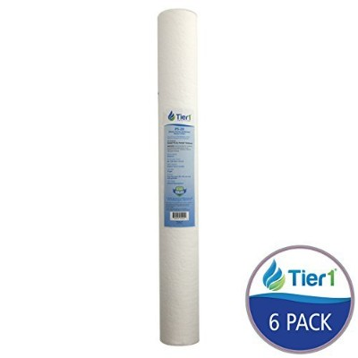Pentek P5-20 Comparable 20 x 2.5 Inch 5 Micron Whole House Sediment Water Filter By Tier1 - by Tier1