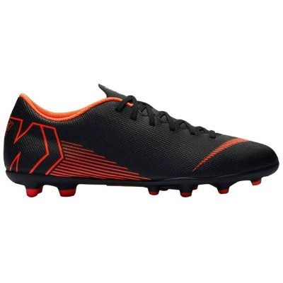 ナイキ メンズ サッカー シューズ Nike Mercurial Vapor 12 Club MG スパイクBlack/Total Orange/White