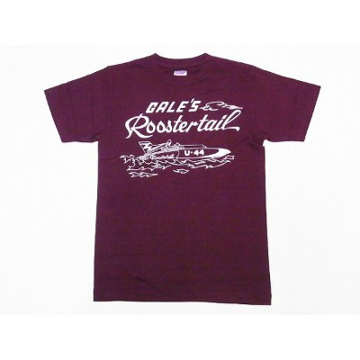 DUBBLE WORKS[ダブルワークス] Tシャツ ROOSTER TAIL 28133005-11 (バーガンディー) 【RCP】