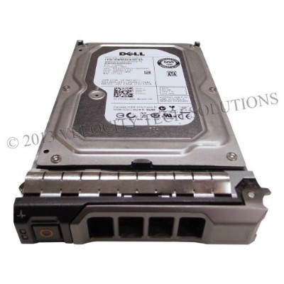 """Dell 1KWKJ 500GB 3.0Gbps 7.2K 3.5"""" Enterprise Class 64MB Cache SATA Hard Drive in R & T Series Tray..."""