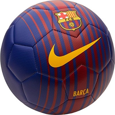 2017-2018 Barcelona Nike Prestige Football (Red-Blue)