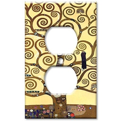 Klimt–The Tree Of Life–装飾スイッチプレート Outlet Cover O345