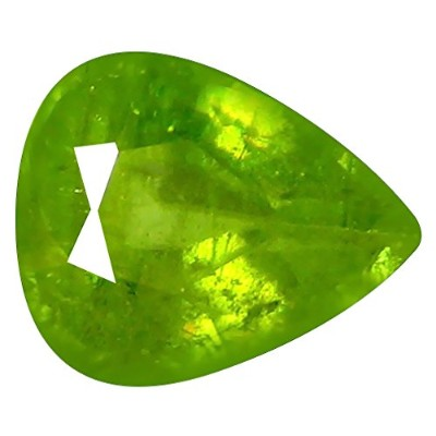 スピン ルーズジェームズ 1.51 ct Pear Cut (8 x 6 mm) Un-Heated Pakistan Sphene Natural & Genuine Gemstone