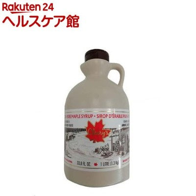 Cleary's メープルシロップ(1L)【Cleary's(クレアリーズ)】