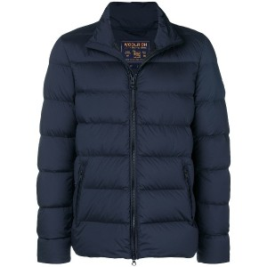 Woolrich quilted padded jacket - ブルー