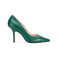 Anna F. pointed toe pumps - グリーン