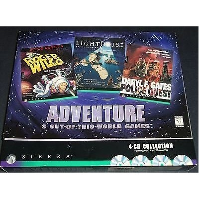 Adventure - 3 Out-of-this-world Games (輸入版)