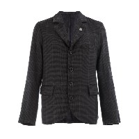 Geoffrey B. Small checked cashmere jacket - グレー