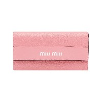 Miu Miu long continental wallet - ピンク