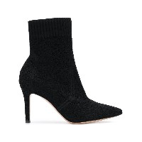 Gianvito Rossi pointed ankle boots - ブラック