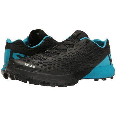 サロモン メンズ スニーカー シューズ S-Lab XA Amphib Black/Transcend Blue/Racing Red