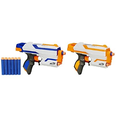 ナーフ エヌストライク アメリカ 直輸入 エリート Nerf N-Strike Elite Sidestrike Blaster 2-Pack Nerf Guns with 12 Nerf...