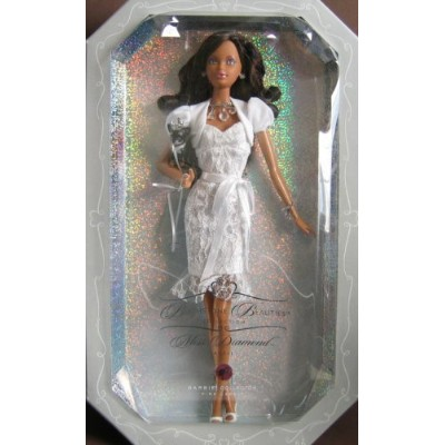 バービー バービー人形 バースストーン 誕生石 12カ月 Barbie - Birthstone Beauties Miss Diamond April Collector AA Doll ...