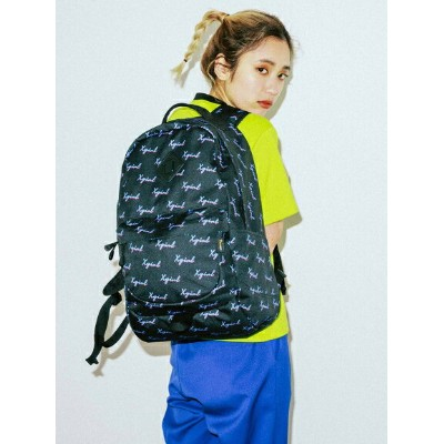 X-girl(エックスガール)CHEWY LOGO BACKPACK