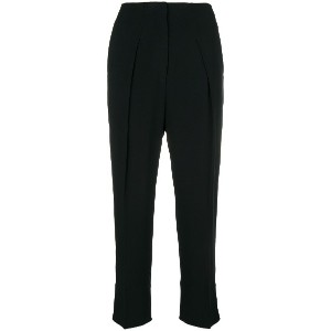 Theory cropped tailored trousers - ブラック