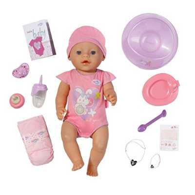 Baby born Interactive Doll by Baby Annabell [並行輸入品]