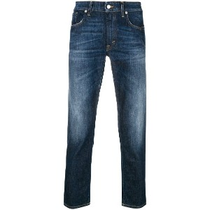Department 5 cropped fitted jeans - ブルー