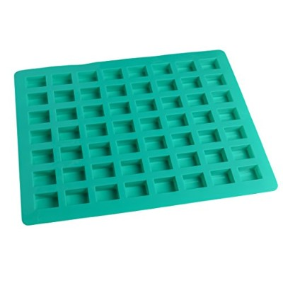 O'Creme Rectangle Caramel Candy Silicone Mould for Chocolate Truffles, Ganache, Jelly, Candy and...