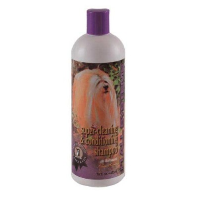 #1 All Systems Super Cleaning and Conditioning Pet Shampoo, 16-Ounce by #1 All Systems