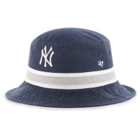 フォーティセブン ハット 47 New York Yankees Striped Bucket Hat