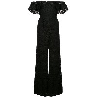 Alexis Edlyn off-the-shoulder jumpsuit - ブラック