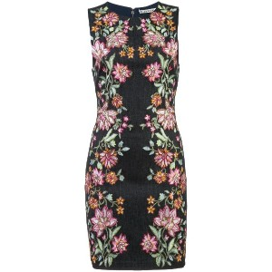 Alice+Olivia floral printed pencil dress - マルチカラー