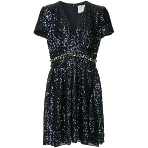 Ingie Paris sequin-embellished dress - メタリック