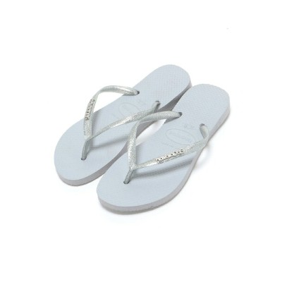 【SALE/20%OFF】havaianas (L)/SLIM LOGO METALLIC ハワイアナス シューズ【RBA_S】【RBA_E】