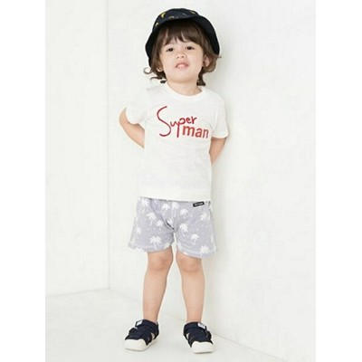 【SALE/29%OFF】petit main superMan Tシャツ プティマイン カットソー【RBA_S】【RBA_E】