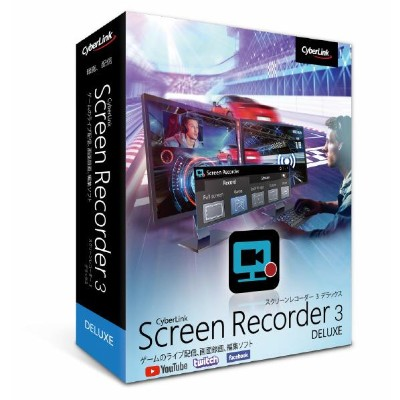 サイバーリンク(株) Screen Recorder 3 通常版 SCREENRECORDER3DXツウジヨウWC [SCREENRECORDER3DXツウジヨウWC]【KK9N0D18P】