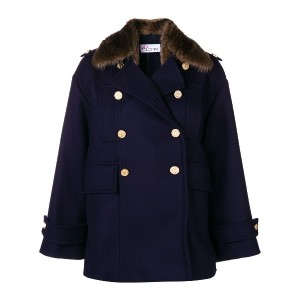 Red Valentino double breasted coat - ブルー