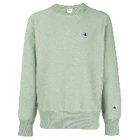 Champion crew-neck sweatshirt - グリーン
