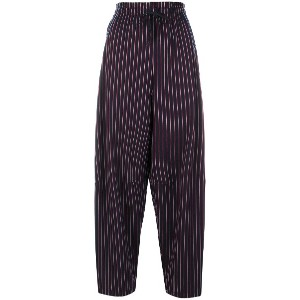 See By Chloé pinstripe trousers - ブルー