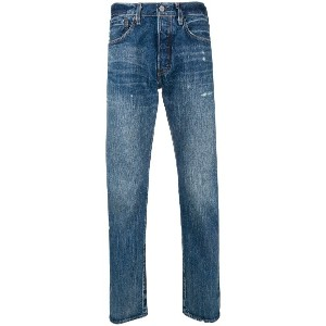 Levi's: Made & Crafted 501 tapered jeans - ブルー