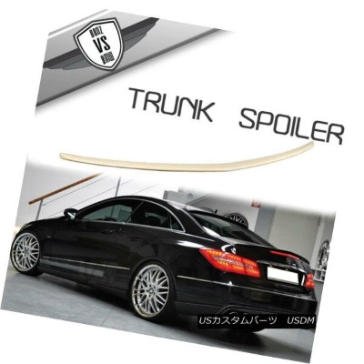 エアロパーツ Fit 10 11 12 13 14 15 16 17 Benz W207 C207 E Class Coupe 2Dr Trunk Spoiler ABS フィット10 11 12...