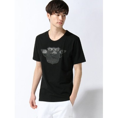 【SALE/50%OFF】TETE HOMME TETE HOMME/(M)バイク厚盛りラバープリントTクルー テットオム カットソー【RBA_S】【RBA_E】【送料無料】