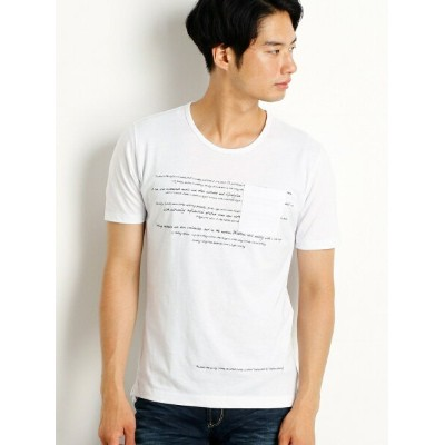 NICOLE CLUB FOR MEN 刺繍&プリントロゴTシャツ ニコル カットソー【送料無料】