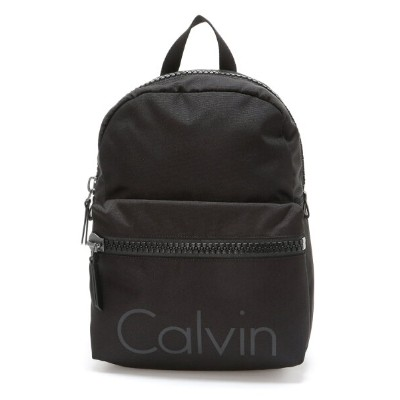 【SALE/50%OFF】CALVIN KLEIN JEANS ACCESSORIES (M) カルバンクライン メンズ 雑貨 バックパック リュック ギフト キャンパス ビッグジッパーバックパック...