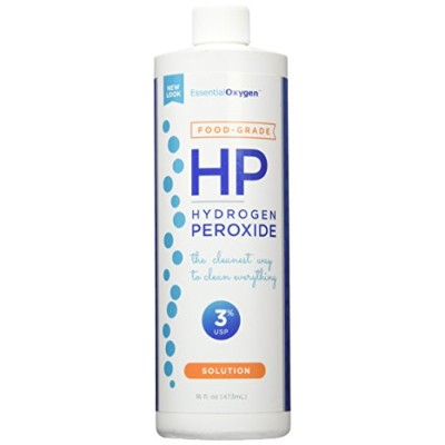 海外直送品Food Grade Hydrogen Peroxide 3%, 16 oz by Raw Essentials Living Foods
