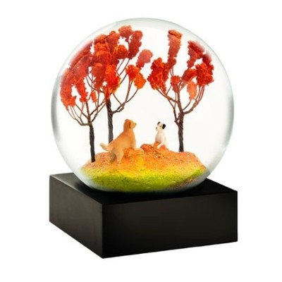 Autumn Pals Snow Globe by Cool Snow Globes