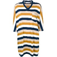 Sonia Rykiel flared V-neck dress - ブルー